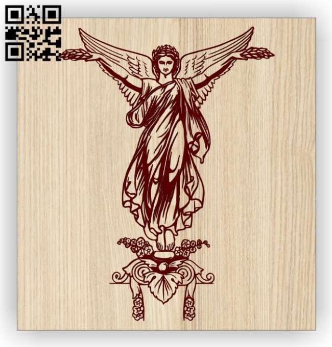 Angel E0014472 file cdr and dxf free vector download for laser engraving machine