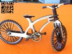 Bike E0014823 file cdr and dxf free vector download for laser cut
