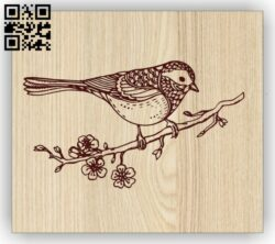 Bird E0014680 file cdr and dxf free vector download for laser engraving machine