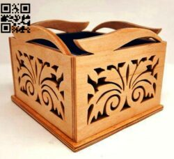 Box E0014726 file cdr and dxf free vector download for laser cut