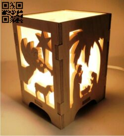 Candle holder E0014756 file cdr and dxf free vector download for laser cut