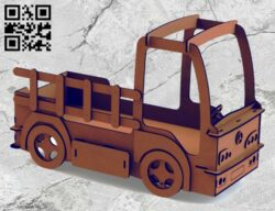 Car shaped bed E0014840 file cdr and dxf free vector download for laser cut plasma