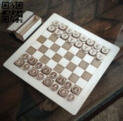 Chess E0014562 file cdr and dxf free vector download for laser cut