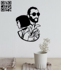 Couple wall decor E0014809 file cdr and dxf free vector download for laser cut plasma