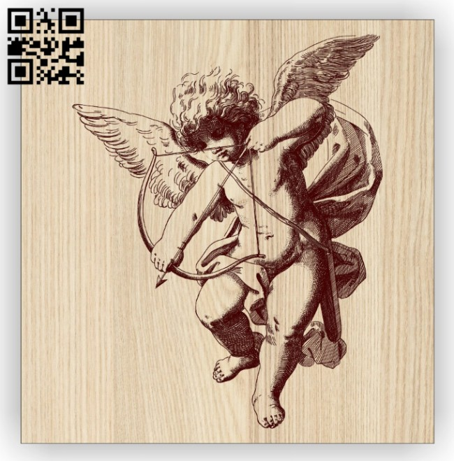 Cupid E0014843 file cdr and dxf free vector download for laser engraving machine