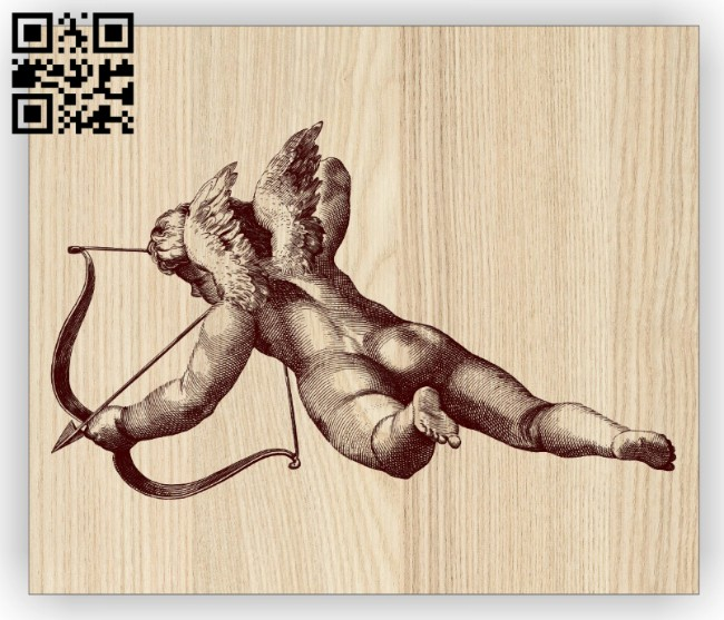 Cupid E0014844 file cdr and dxf free vector download for laser engraving machine
