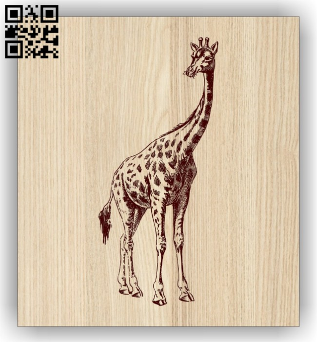 Giraffe E0014469 file cdr and dxf free vector download for laser engraving machine