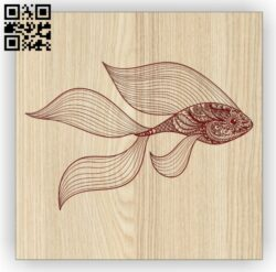 Gold fish E0014681 file cdr and dxf free vector download for laser engraving machine