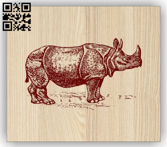Hippopotamus E0014698 file cdr and dxf free vector download for laser engraving machine