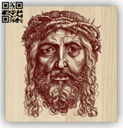Jesus E0014775 file cdr and dxf free vector download for laser engraving machine