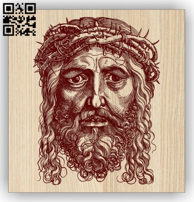 Jesus E0014774 file cdr and dxf free vector download for laser engraving machine