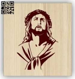 Jesus E0014845 file cdr and dxf free vector download for laser engraving machine