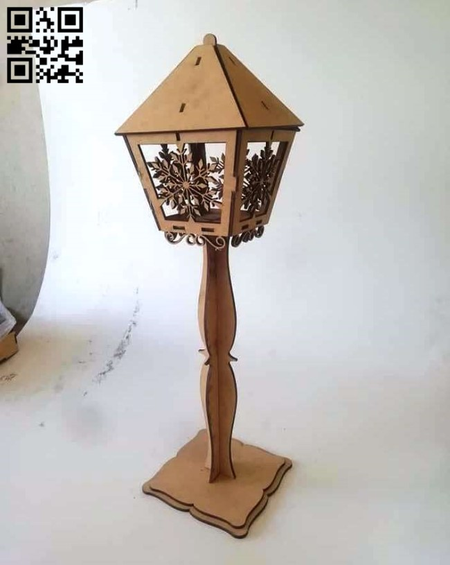 Lamp E0014516 file cdr and dxf free vector download for laser cut