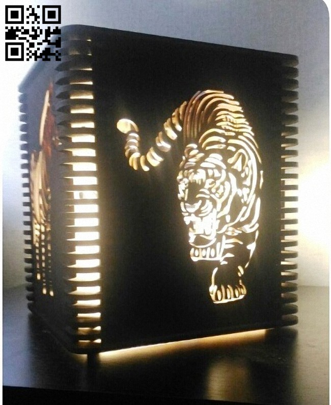 Lamp E0014707 file cdr and dxf free vector download for laser cut