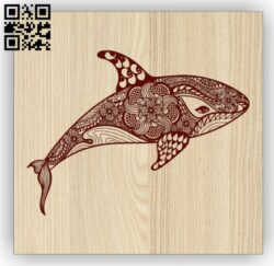 Mandala fish E0014678 file cdr and dxf free vector download for laser engraving machine