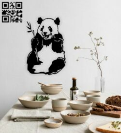 Panda E0014767 file cdr and dxf free vector download for laser cut plasma