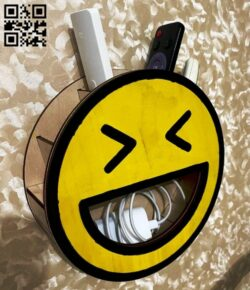 Smile shelf E0014837 file cdr and dxf free vector download for laser cut