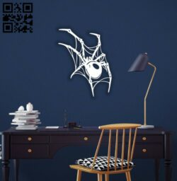 Spider E0014710 file cdr and dxf free vector download for laser cut plasma