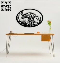 Turtle E0014647 file cdr and dxf free vector download for laser cut plasma