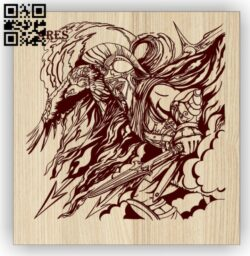 Ares E0015049 file cdr and dxf free vector download for laser engraving machine