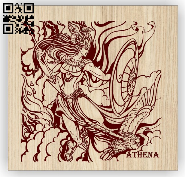 Athena E0015050 file cdr and dxf free vector download for laser engraving machine