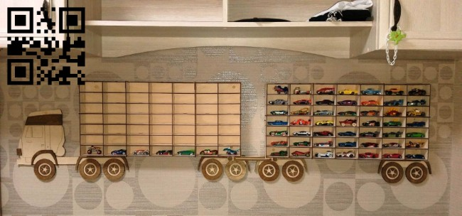 Car shelf E0014950 file cdr and dxf free vector download for laser cut