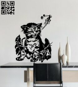 Cat E0015043 file cdr and dxf free vector download for laser cut plasma