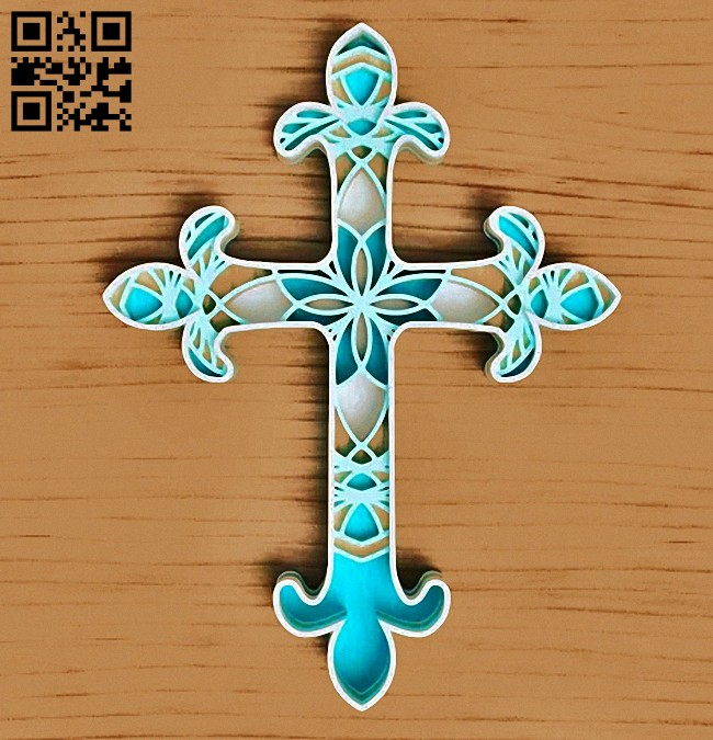 Cross E0014994 file cdr and dxf free vector download for laser cut