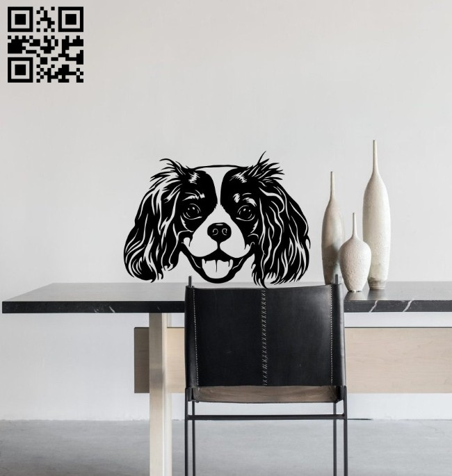 Dog E0014923 file cdr and dxf free vector download for laser cut plasma