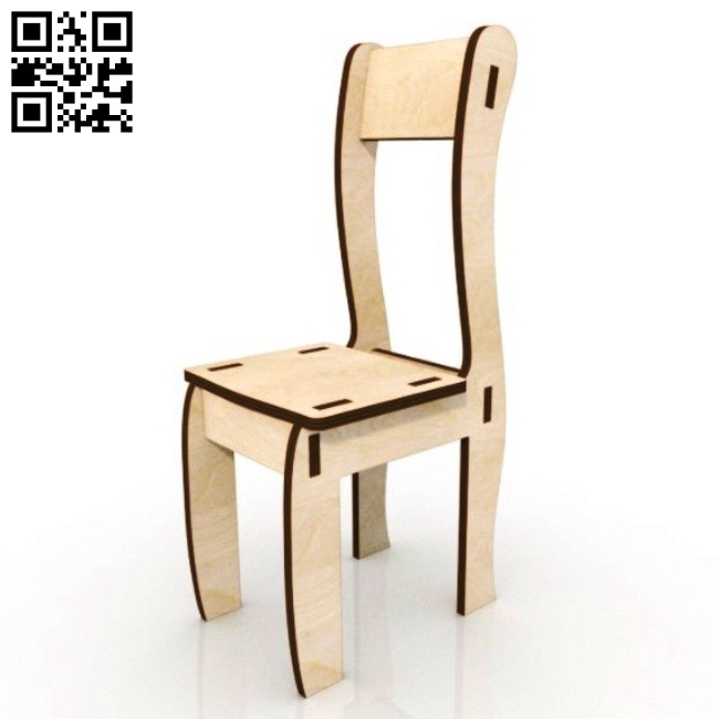 Doll chair E0015071 file cdr and dxf free vector download for laser cut