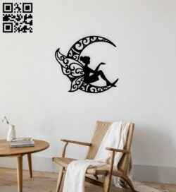 Fairy E0015004 file cdr and dxf free vector download for laser cut plasma