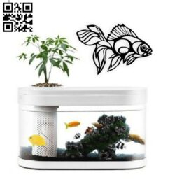 Fish wall decor E0014895 file cdr and dxf free vector download for laser cut plasma