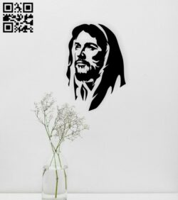 Jesus Christ wall decor E0014945 file cdr and dxf free vector download for laser cut plasma