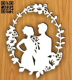Love story E0014959 file cdr and dxf free vector download for laser cut plasma