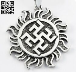 Pendant E0015033 file cdr and dxf free vector download for laser cut