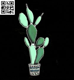 Potted plant E0014971 file cdr and dxf free vector download for laser cut