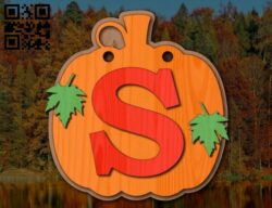 Pumpkin E0015039 file cdr and dxf free vector download for laser cut