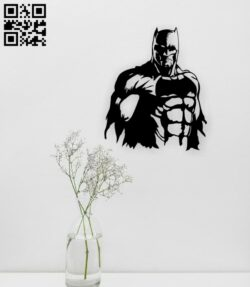 Batman wall decor E0015174 file cdr and dxf free vector download for laser cut plasma