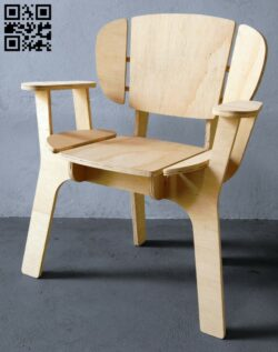 Chair E0015151 file cdr and dxf free vector download for laser cut