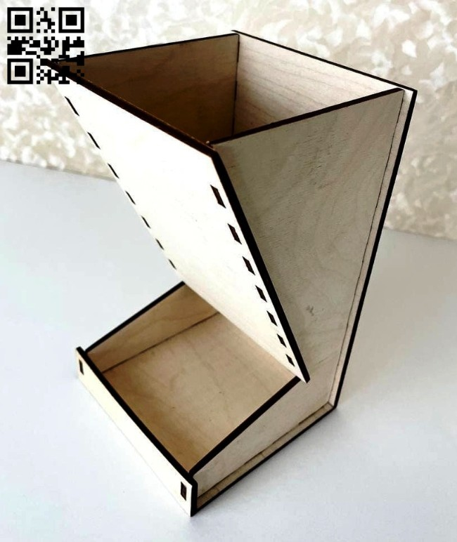 Chinchilla food box E0015105 file cdr and dxf free vector download for laser cut