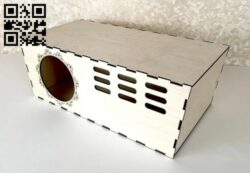 Chinchilla house E0015106 file cdr and dxf free vector download for laser cut