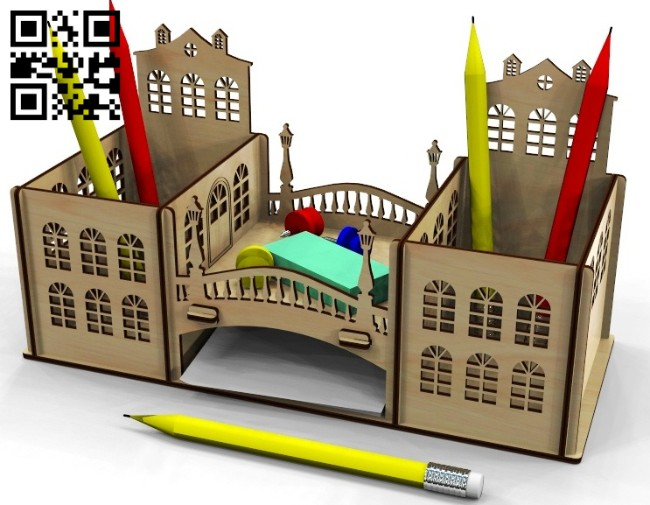 Old town organizer E0015099 file cdr and dxf free vector download for laser cut