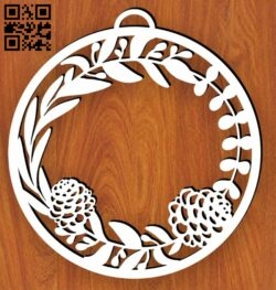 Christmas decor E0015330 file cdr and dxf free vector download for laser cut plasma