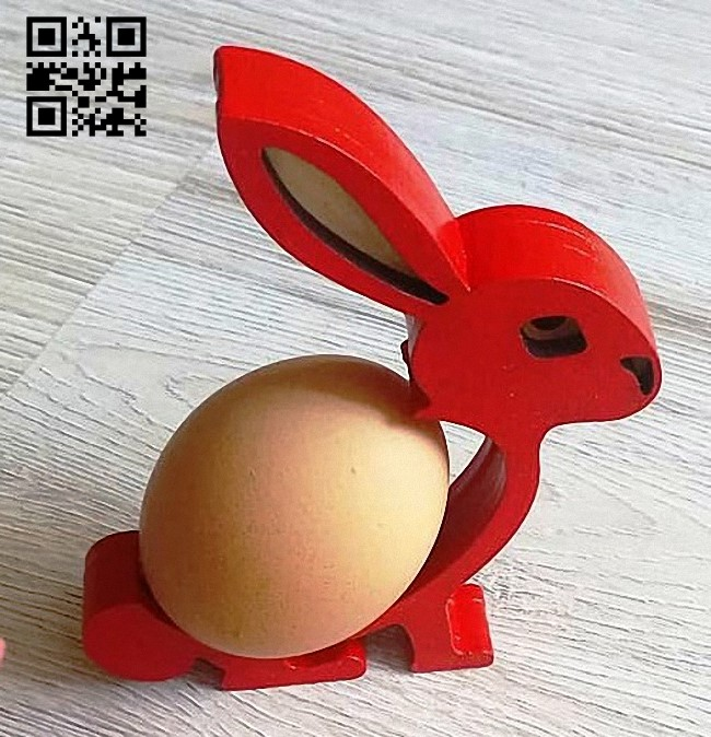 Easter egg stand E0015224 file cdr and dxf free vector download for laser cut