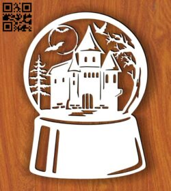 Halloween E0015341 file cdr and dxf free vector download for laser cut plasma