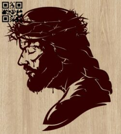Jesus E0015382 file cdr and dxf free vector download for laser engraving machine
