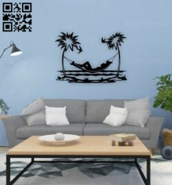 Recreation wall decor E0015270 file cdr and dxf free vector download for laser cut plasma